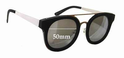 SFx Replacement Sunglass Lenses fits Quay Australia Brooklyn - 50mm wide