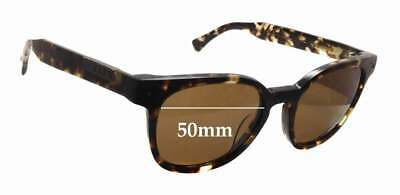 SFX Replacement Sunglass Lenses fits Dirty Dog Circuit 62mm Wide x 42mm Tall