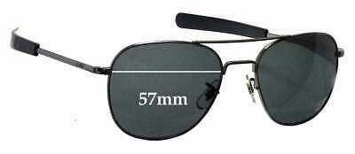 SFx Replacement Sunglass Lenses fits American Optical Original Pilot - 57mm wide