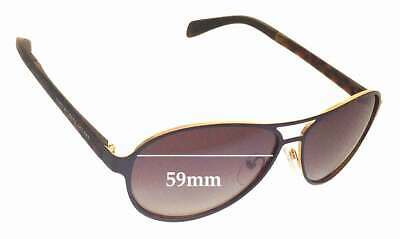 SFX Replacement Sunglass Lenses fits Marc by Marc Jacobs MMJ 184 60mm Wide
