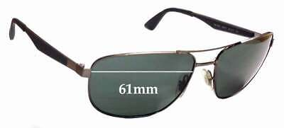 SFx Replacement Sunglass Lenses fits Ray Ban RB3528 - 61mm wide