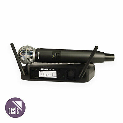 Shure GLXD24SM58 Handheld Wireless Microphone System SM58 Microphone