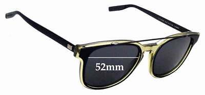 SFx Replacement Sunglass Lenses fits Christian Dior Homme Black Tie 211S - 52mm