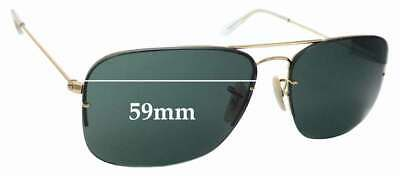 SFx Replacement Sunglass Lenses fits Ray Ban RB3482 Flipout - 59mm wide