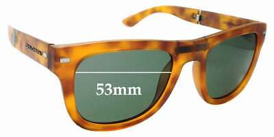 Ultimate Red-Orange Mirror Black Pair-Polarized SFx Replacement Sunglass Lenses fits Dolce /& Gabbana DG2192 Old Prior 2009 62mm wide