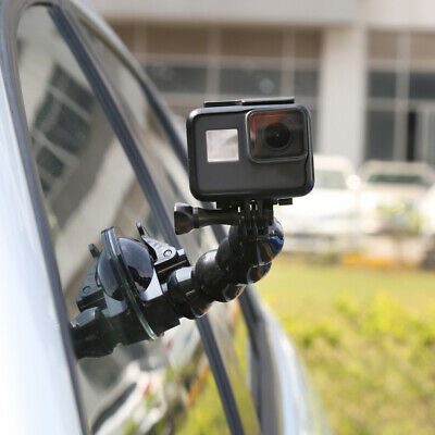 IN CAR SUCTION Cup Dash Mount Windshield Holder for GoPro