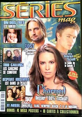 Séries Mag n°37; Charmed/ Lost/ Tru Calling/ Un, Dos, Tres/ Desperate Housewives