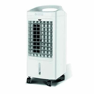 Home Fan White 3,5L Water Tank Air Cooler with Remote Control Timer 3 Speeds