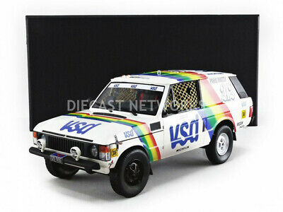 Top Marques Collectibles - 1/18 - Land Rover Range Rover - Winner Paris Dakar 19