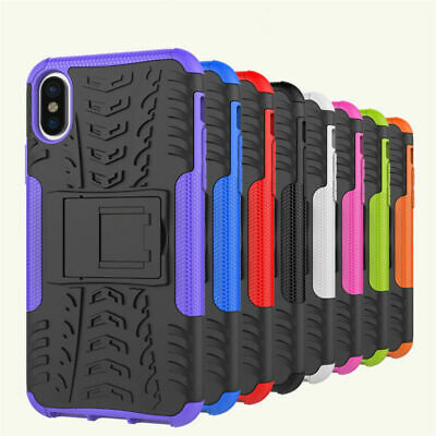 Heavy Duty Gorilla Shock Proof Kick Stand Builder Case Cover For Apple iPhone XR