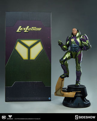 Dc Superman Comics: Lex Luthor Power Suit Premium Format Figure Statue Sideshow