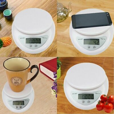 5kg Digital Electronic Kitchen Food Diet Postal Scale Weight Balance Beauty