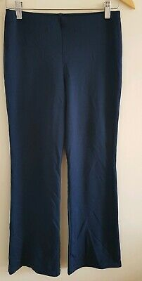 Girls M&S Navy Trousers Age 14 <EE1218X