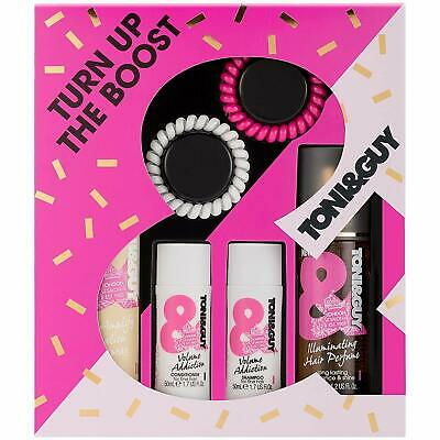 Toni & Guy Turn Up The Boost Women's Gift Set for Her Travel Size