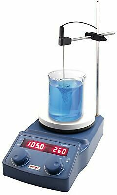 Digital Magnetic Hotplate Stirrer, 5L Capacity, 50-1500rpm, 50-320°C, Warranty