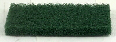 High Abrasion 255mm x 117mm Floor Pad scrubber Green. Pack of 6.