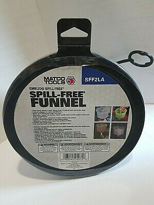 NEW Matco Tools Spill - Free Funnel With Lid SFF2LA
