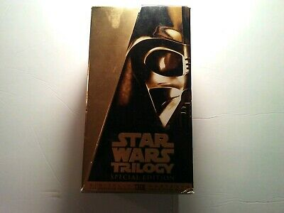 Star Wars Trilogy (VHS, Special Edition)