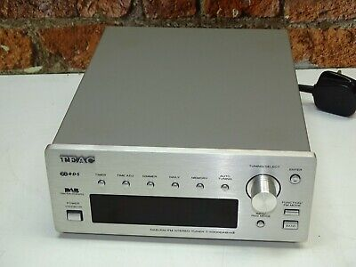 TEAC T-H300DAB MKII Silver Finish Reference 300 Series AM, FM & DAB Radio Tuner