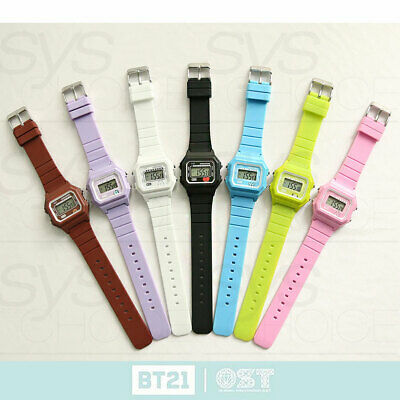 BTS BT21 Official Authentic Goods Jelly Digital Watch by OST + Tracking Number