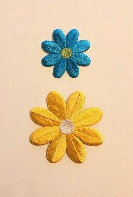 70 Satin Polka Dot Fabric Flower Applique//doll//trim//bowSewing//Craft//Padded H113