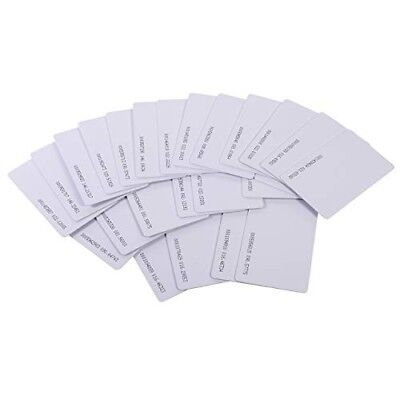 100 X Access Control Cards - For Paxton Net2 systems
