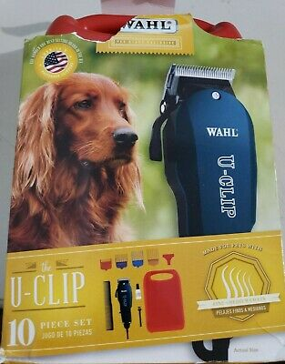 Wahl Professional Animal U-Clip Pet Clipper Trimmer  Pet Grooming Kit