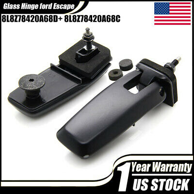 Rear Window Lift Gate Glass Hinge Kit RH&LH For 2008-2012 Ford Escape Mariner ZC
