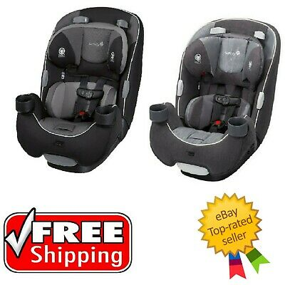 Safety 1st EverFit 3-in-1 Convertible Car Seat - Choose Your Color - Brand New