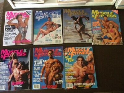 Muscle & Fitness Magazine Lot - 11 issues from 1996 and 1997