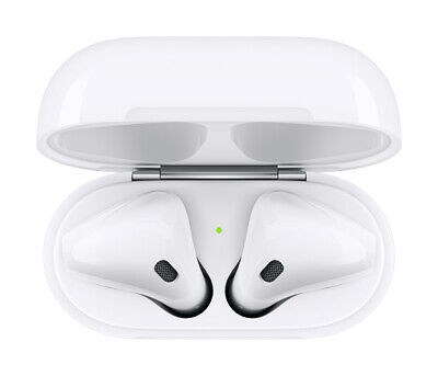 Apple AirPods 2nd Generation with Charging Case - White - AUTHENTIC- NEW IN BOX