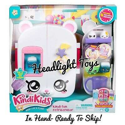 In Hand Kindi Kids Doll Beat Petkin Refrigerator Snack Time 4 Exclusive Shopkins