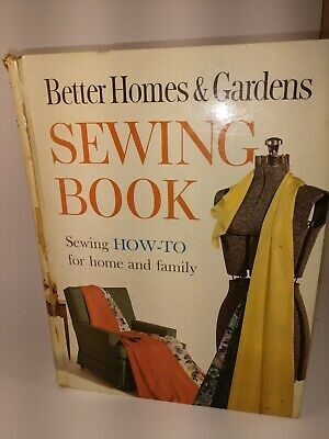 Better Homes & Gardens Sewing Book 1961 Edition