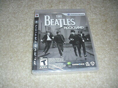 The Beatles: Rock Band (Sony PlayStation 3 PS3, 2009) New!