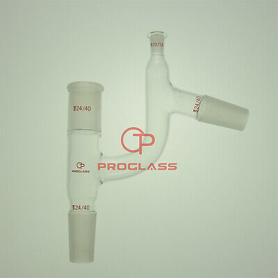 Proglass Adapter,Distillation All Joints 24/40 Thermometer Joint 10/18