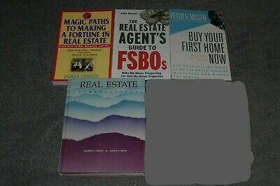 Lot of Four Real Estate Books~All In Xlnt Clean Cond.~Buy & Sell~Investment!!!