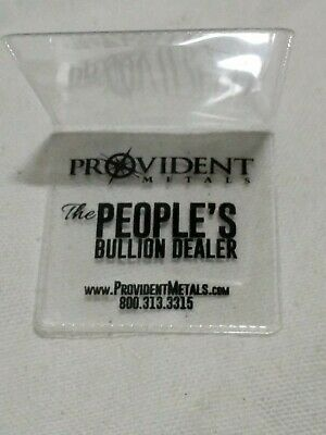 Provident Metals 2x2 Double Pocket Coin Flips Pack of 50 Holders NON PVC Plastic