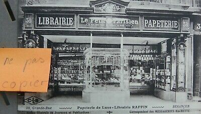 cpa BESANÇON (Doubs 25 ) librairie papeterie luxe