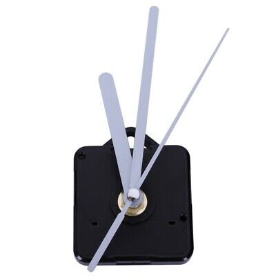 Quartz Wall Clock Movement Diy Clock Mechanism Parts Classic Hanging White H3O2