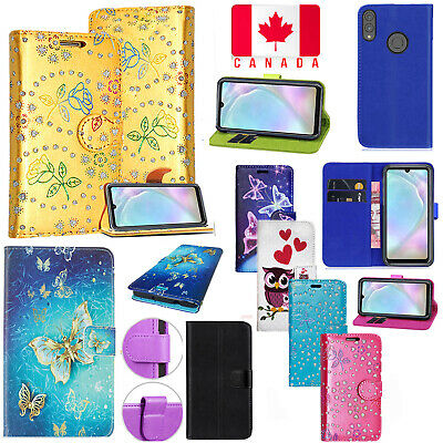 For Huawei P30 Lite Shockproof Card Pocket PU Leather Flip Stand Case Cover