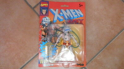 Action Figure X -Men Weapom X Wolverine Edition 4 Tyco Vintage Nuovo