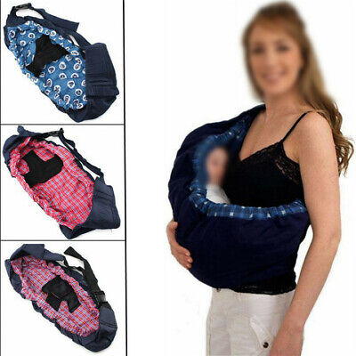 Infant Baby Carrier Adjustable Wrap Sling Newborn Breathable Backpack Ergonomic