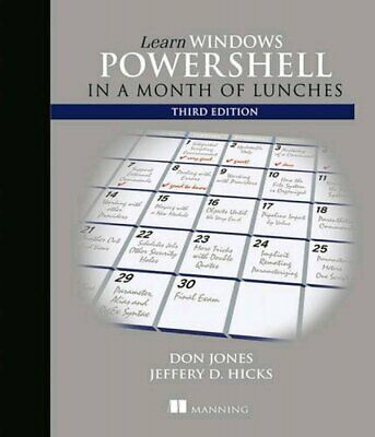 [PDF] Learn Windows PowerShell in a Month of Lunches 3rd Edition by Donald W....