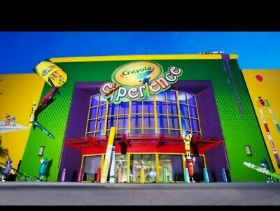 Crayola Experience Admission in Orlando Florida (16 available) Exp. May 2020!