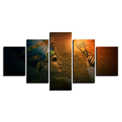 Ancient Gold Mask Of The Egyptian Art Print Home Decor Wall Art Poster C