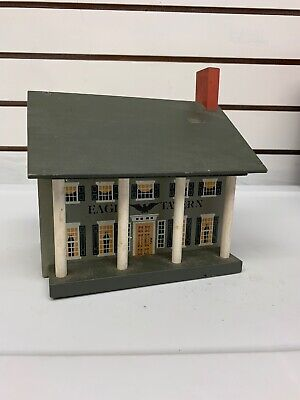 Windfield Designs 1988 Bank Eagle Tavern Wooden