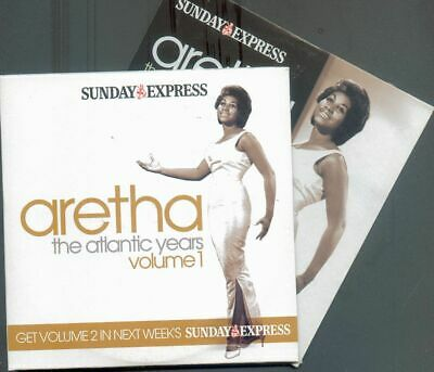 Aretha Franklin: The Atlantic Years - Uk Promo 2 Cd Set / Respect, Night Life ++