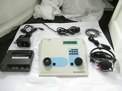 Welch Allyn Gsi 66 Diagnostic Audiometer Clinical Portable Pure Tone Audiology