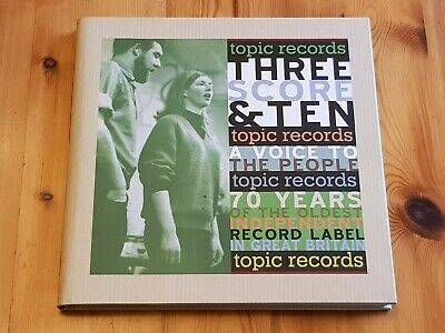 Three Score & Ten 7 CD Set and book, 70 years of Topic Records folk music