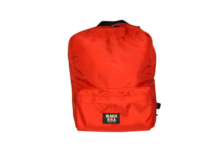 First aid Backpack,emergency Backpack,search and rescue bag Red Made in USA.